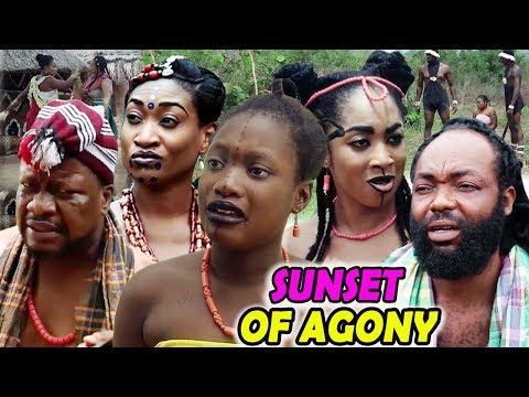 """New Movie Alert """"SUNSET OF AGONY"""" Season 1&2 - (Sharon Ifedi) 2019 Latest Nollywood Epic Movie"""