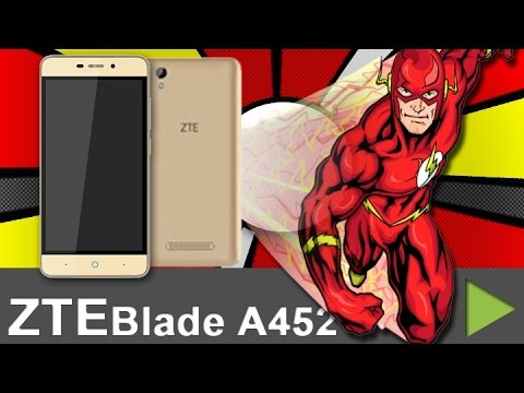Видео Смартфон ZTE Blade A452 Dual SIM Gold