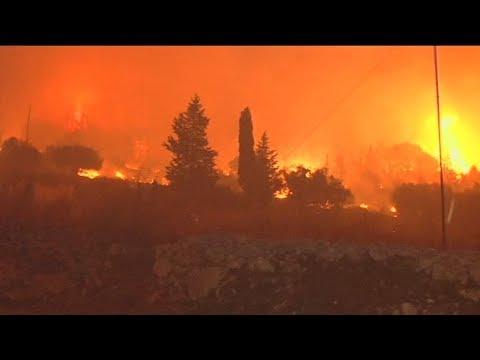 Θλίψη και αγανάκτηση για την φωτιά στην Ζάκυνθο