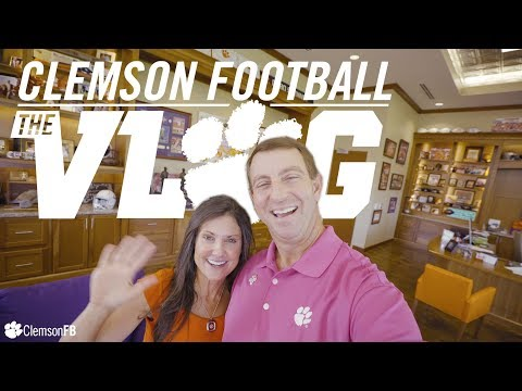 Clemson Football || The Vlog (Ep 7) (видео)