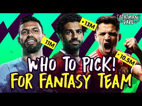 My 2018/19 Fantasy Premier League Team | Wildcards, Bargains, Must-Have Players & Ones To Watch
