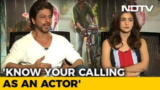 knowyourcallingasanactorshahrukhkhan
