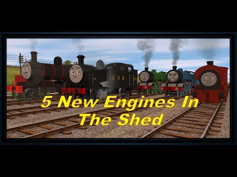 Download Thomas Trainz Music Video Five New Engines In The Shed