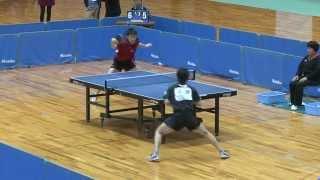 世界卓球2015蘇州 男子日本代表選手選考会 3日目