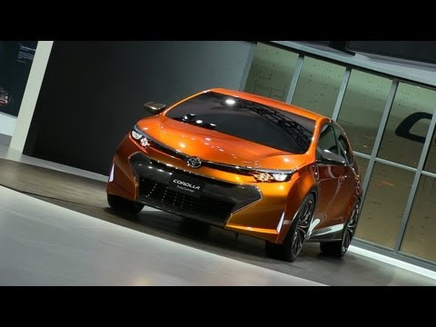 TOYOTA CONCEPT CAR - http://www.TFLcar.com ) The Toyota Corolla is one of Toyota's best selling cars, but it is getting long in the tooth. That's why this Toyota Furia Concept ...