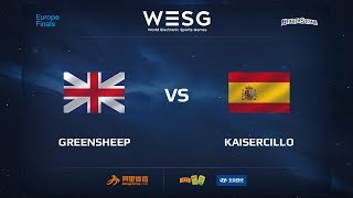 GreenSheep vs Kaisercillo, game 1