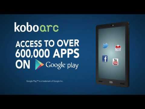 kobo arc 7 guide utilisateur