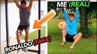 Video Footballers FAKED these Tricks, But I did them for REAL!! (Part 2) MP3, 3GP, MP4, WEBM, AVI, FLV Juli 2019