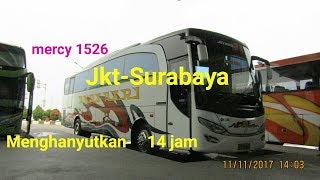 Video Rekor√Jakarta-Surabaya 14 jam,TripRepot Po.Akas Asri,mercy 1526 MP3, 3GP, MP4, WEBM, AVI, FLV Agustus 2018