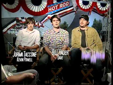 Taccone - MovieWeb goes one-on-one with the cast and director of Hot Rod for some exclusive interviews! Watch as we smack destiny in the face with Andy Samberg, Jorma ...