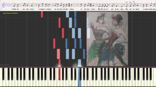 Благодарю, не надо (Романс) (Ноты и Видеоурок для фортепиано) (piano cover)