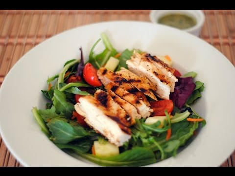 Grilled Chicken Salad With Cilantro Lime Vinaigrette Recipe – Sweet y Salado
