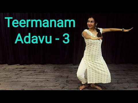 Learn Bharatnatyam | Lesson No 48|Teermanam Adavu -3