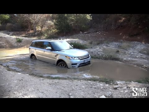 range rover sport - offroad!