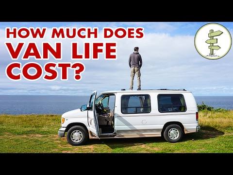 How Much Does Van Life Cost & Our Surprising 6 Month Budget!$ (видео)