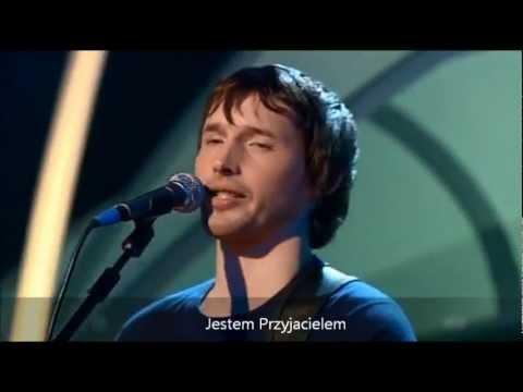 Tekst piosenki James Blunt - Cry po polsku