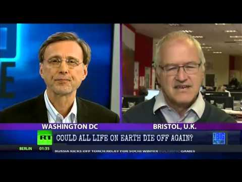 "Professor re; human extinction in 2030; ""Politicians live in denial"""