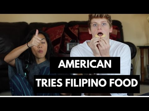Download American Tries Filipino Food! HD Mp4 3GP Video and MP3