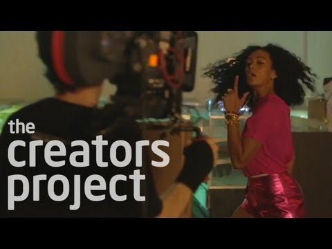 *BEHIND THE SCENES* SOLANGE- LOVERS IN THE PARKING LOT