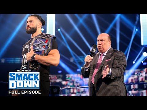 WWE SmackDown Full Episode, 04 September 2020