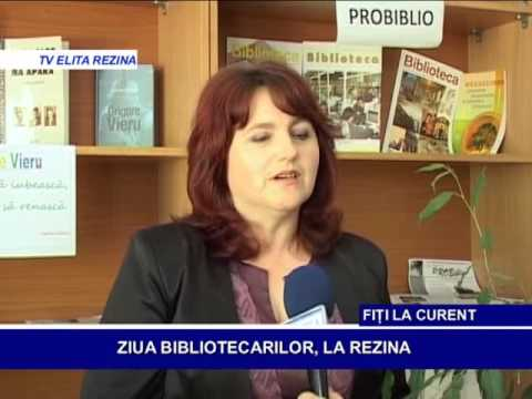 ZIUA BIBLIOTECARILOR, LA REZINA