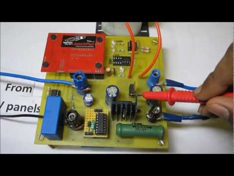 TI India Analog Design Contest 2012-2013-Solar power based intelligent battery charging system…
