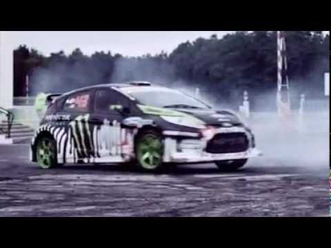Ken_Block showing how to drift