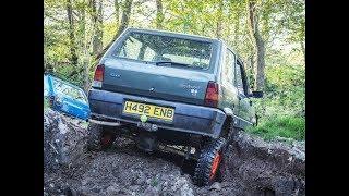 UK Panda 4x4 - Wales Off Road 2017 - Llanerchindda Trails Off-Road Course