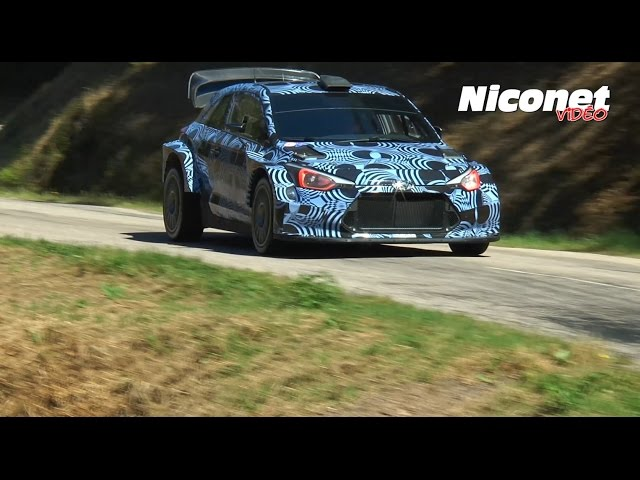 Test - Hyundai i20 WRC 2017 (HD) Flashencote.fr