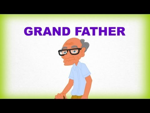 Ailem ve Ben, Grand Father – Çocuklar İçin İngilizce Öğrenme Videosu