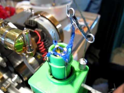 Stirlingstrickmaschine
