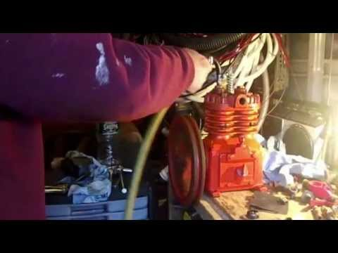 diy steam engine - yup I am going to tempt to build a steam engine from a 2 cylinder air compressor.