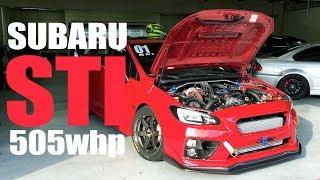 Um dos projetos mais completos para um Subaru STI de time attack, com tudo que tem direito inclusive cambio sequencial e...