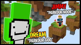 DREAM Tried To Make Me Better At MINECRAFT PARKOUR..