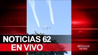 Avión deja caer combustible sobre varios planteles en Cudahy – Noticias 62 - Thumbnail