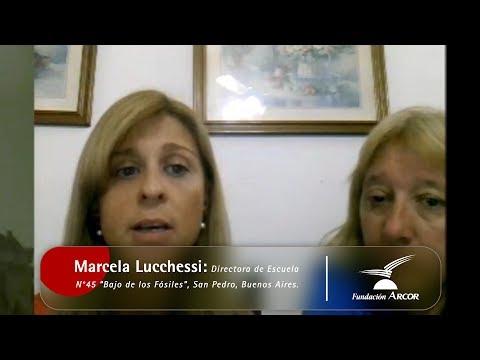 Entrevista a Marcela Lucchessi en el marco del Proyecto Aprendijuegos