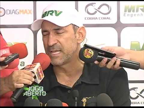 [JOGO ABERTO PE] Santa Cruz: Eutrópio pode escalar Ricardo Buedo e Pitbull para o jogo contra do CRB