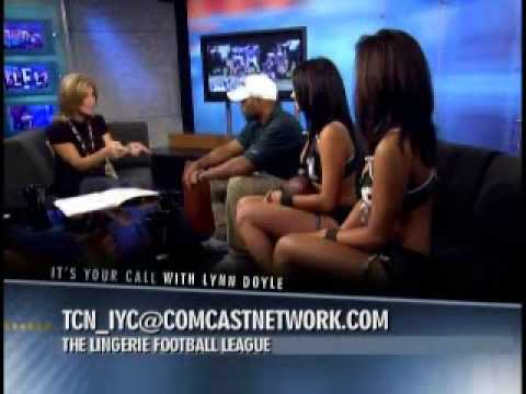 Lingerie Football :: PART 2 :: It's Your Call with Lynn Doyle