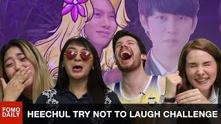Download Video Heechul Savage Try Not To Laugh Challenge • Fomo Daily Reacts MP3 3GP MP4
