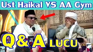 Video Q & A LUCU Ust Haikal Hassan VS AA Gym MP3, 3GP, MP4, WEBM, AVI, FLV Desember 2018