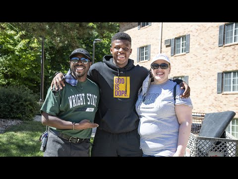 Video thumbnail: Operation Move-In will safely welcome Wright State residential students to campus
