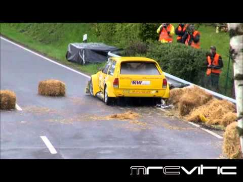 Rally crashes 2012