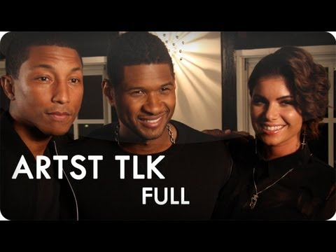 0 Reserve Channel   ARTST TLK With Pharrell Williams: Usher + Leah LaBelle | Video