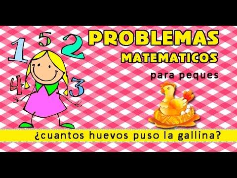 Problemas matematicos para peques