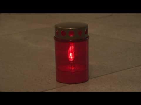 LED Grablichter Grabkerzen, Leuchten 300 TAGE (10 Monate)