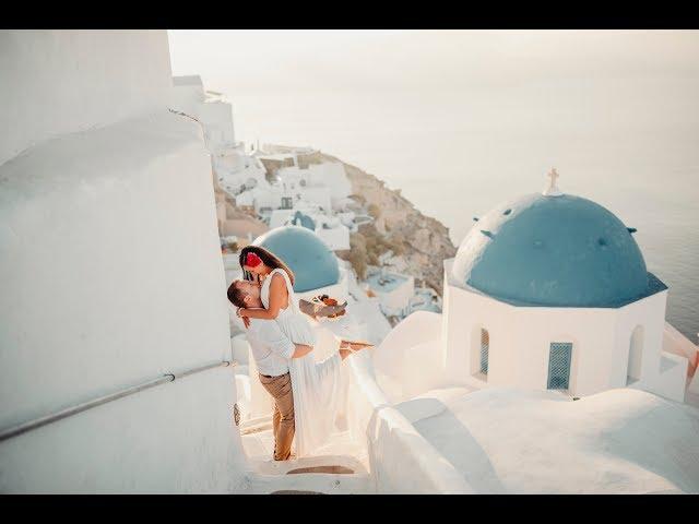 Andrejka a Pavel Santorini