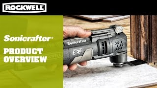 Oscillating Multi Tool | Rockwell Sonicrafter F Series