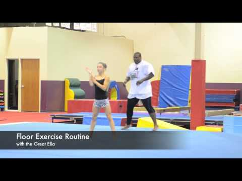 A Different Kind of Workout Wednesday... Football Star Anthony Adams: 2016 Olympic Gymnastics Tryouts