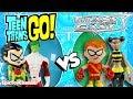 Download Video Teen Titans Go Toys & Teen Titans VS Teen Titans East SURPRISE TOYS Robin Cyborg Raven Teen Titans
