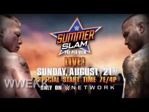 Brock Lesnar vs Randy Orton   WWE Summerslam 2016   promo HD by sawan